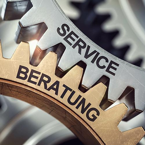 Beratung und Service gehen Hand in Hand!
