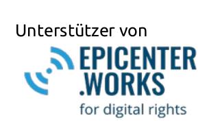Unterstützer von epicenter.works - damit Ihre Daten FAIR behandelt werden.